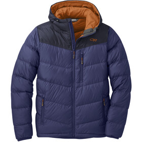 Outdoor Research Transcendent Chaqueta Capucha Hombre, twilight/ink